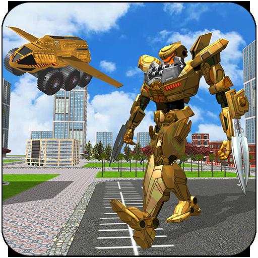 Flying Robot Truck: Real Transforming