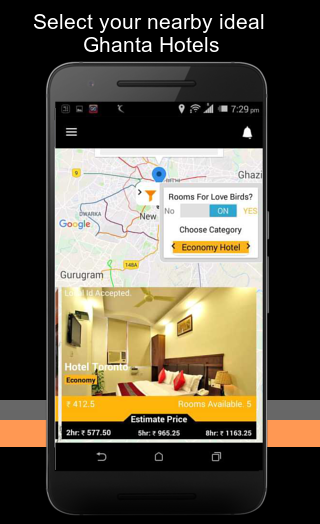Ghanta Hotels : Book Hourly & Short Stay Hotels