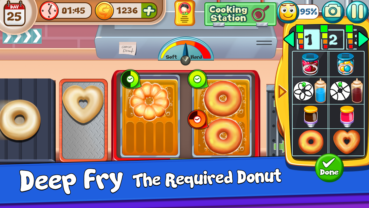 My Donut Truck - Girls Cooking Cafe Kitchen Games