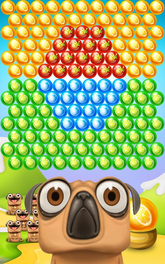 Pug Pop Bubble Shooter