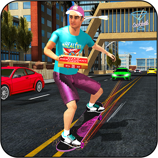 Skateboard Pizza Delivery: Skater Boy