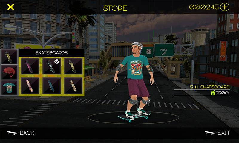 Skateboard Pizza Delivery: Skater Boy