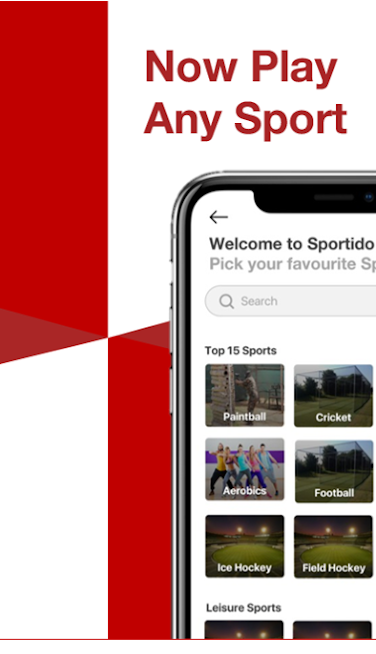 Sportido - Find People & Places to Play Any Sport