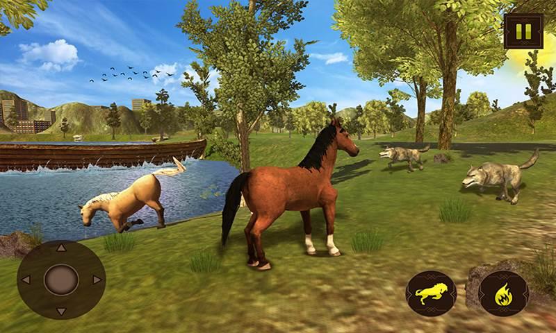 Virtual Horse Family Wild Adventure