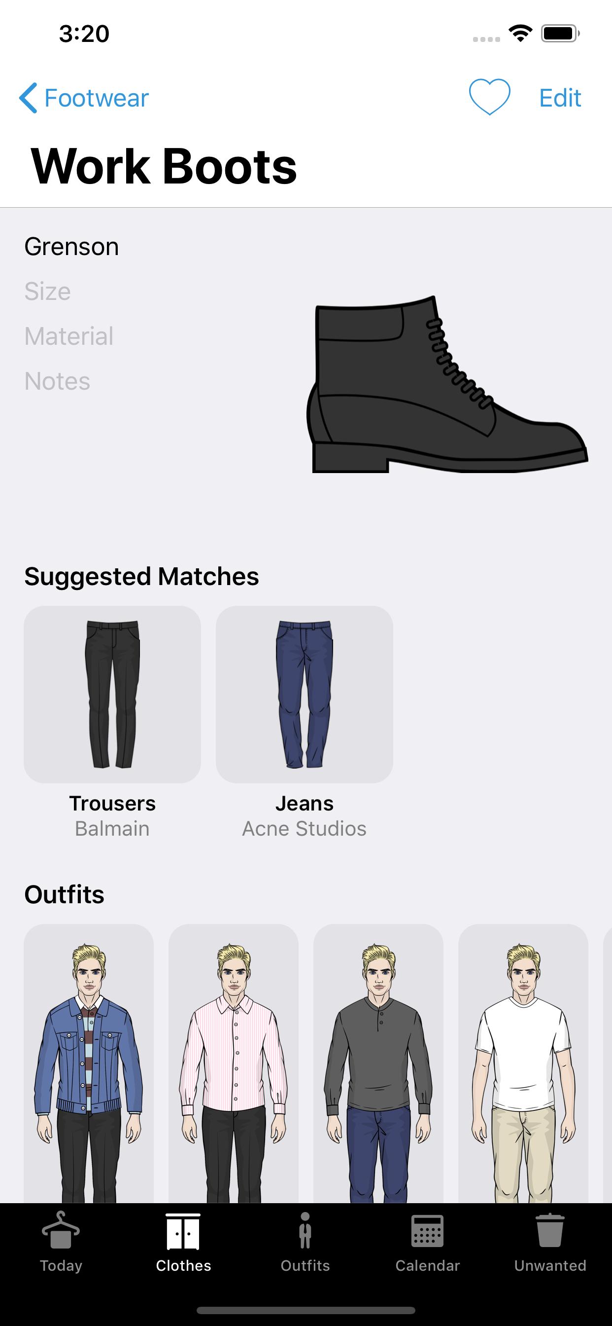 Wardrobe App