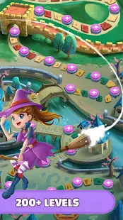 Witch Magic: Bubble Shooter