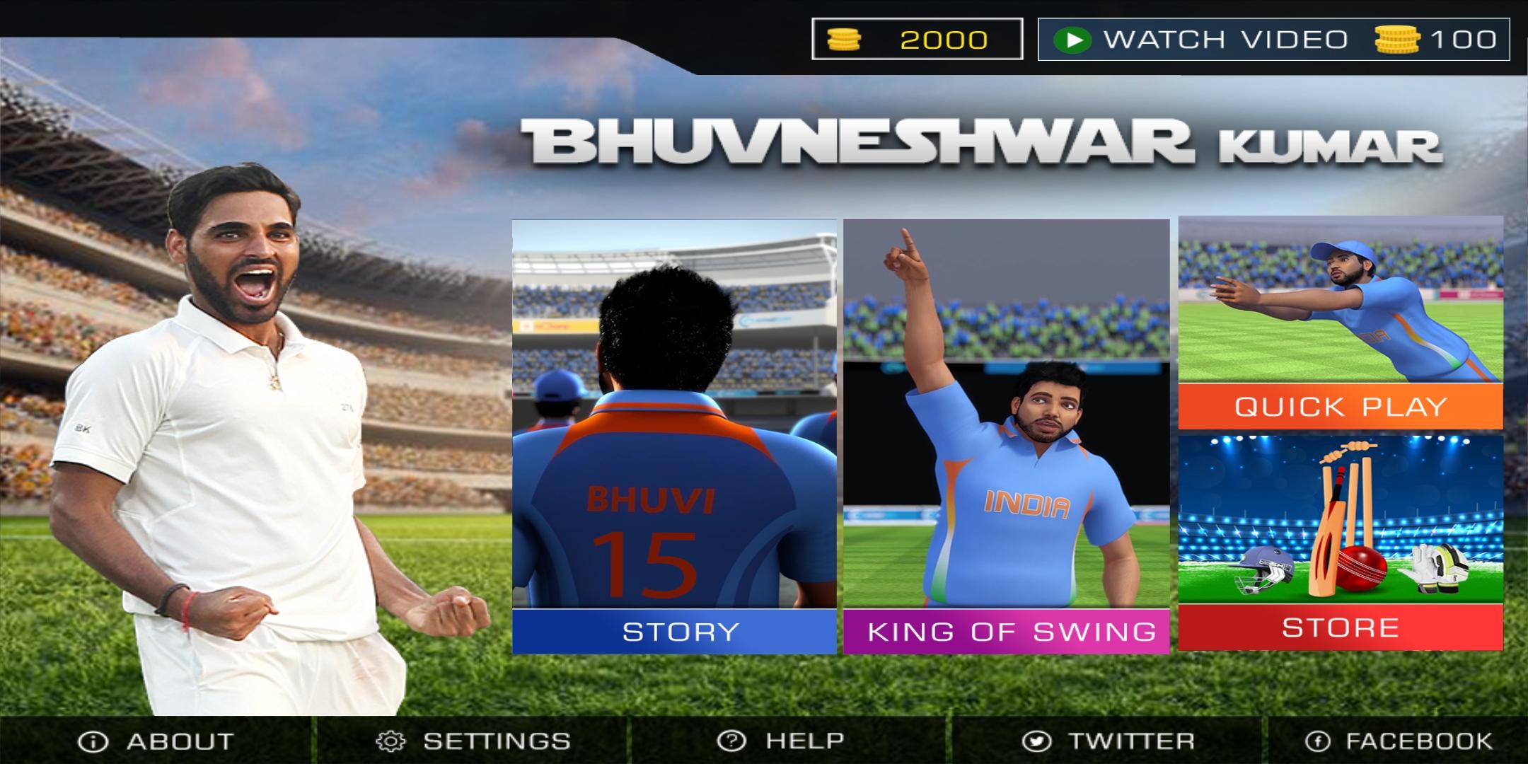 Bhuvneshwar Kumar: Official Cricket Game