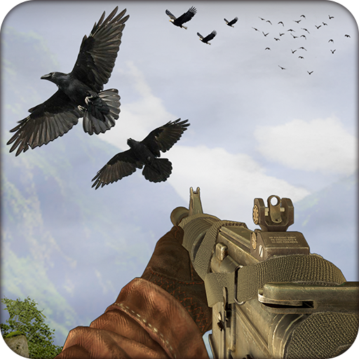 Bird hunting and shooting bird simulator