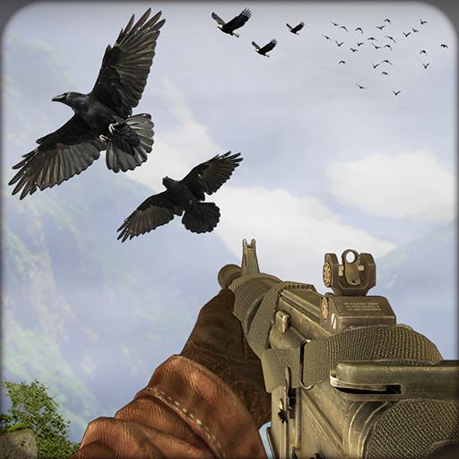 Bird hunting and shooting bird simulator