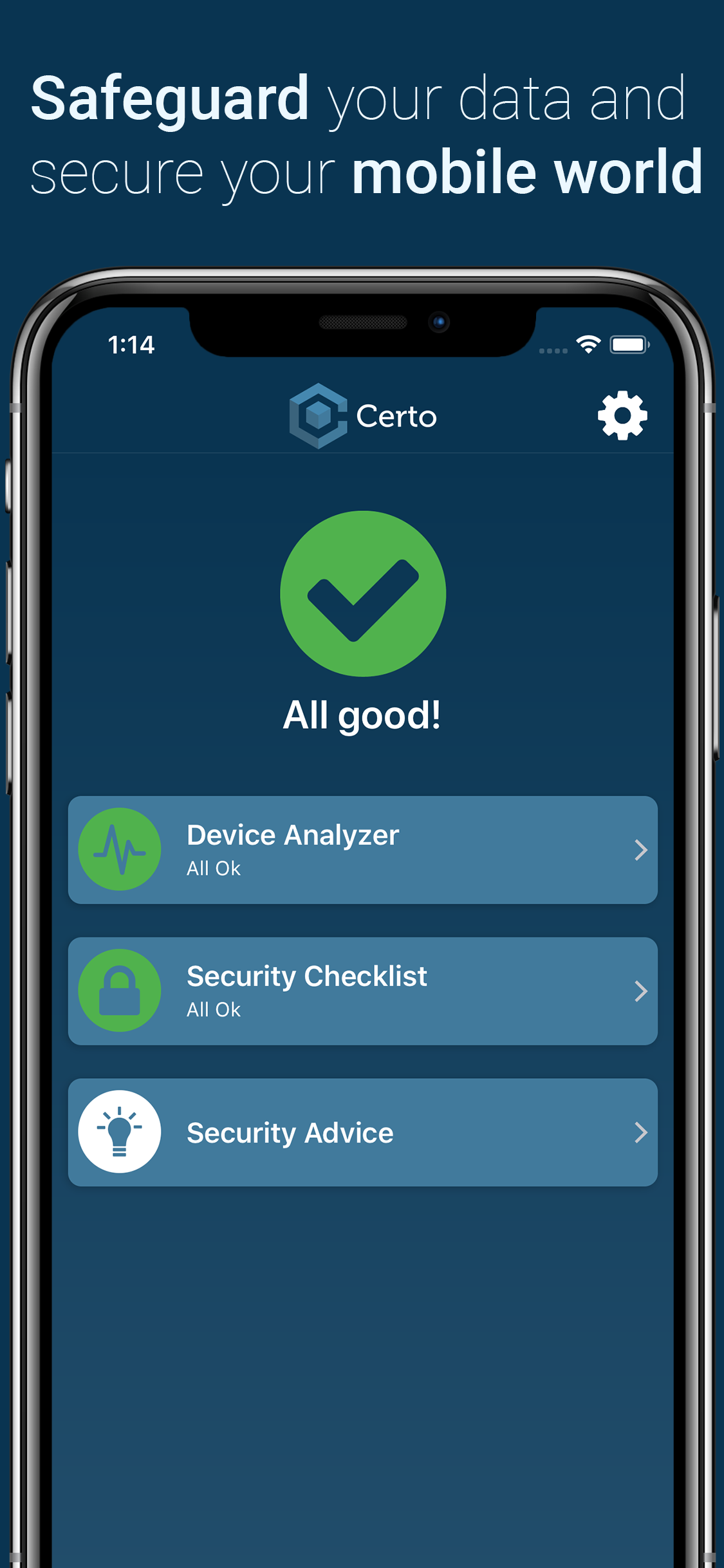 Certo Mobile Security