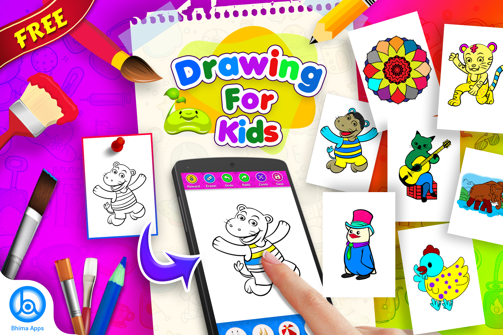 Coloring Book for Kids – Drawing Book