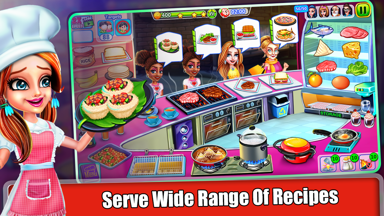 Cooking Express - Chef Cooking in the Kitchen Game