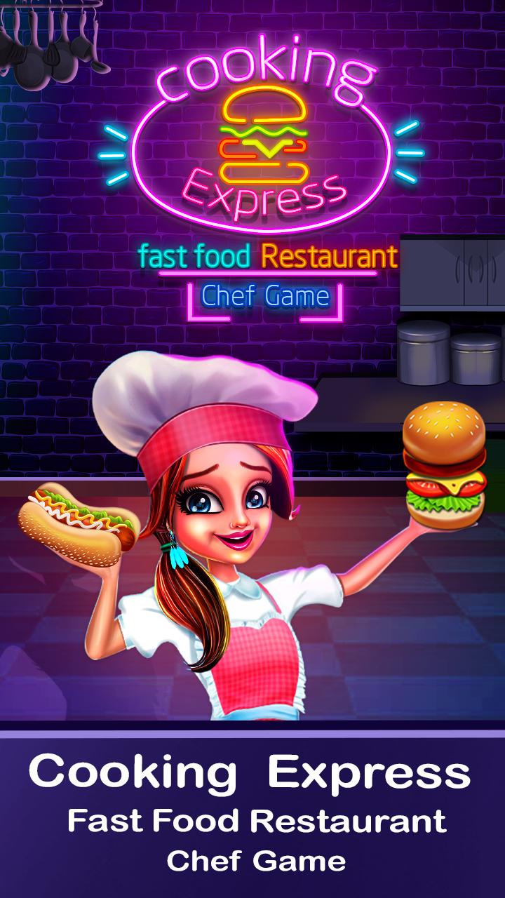 Cooking Express - Match & Serve Restaurant Game