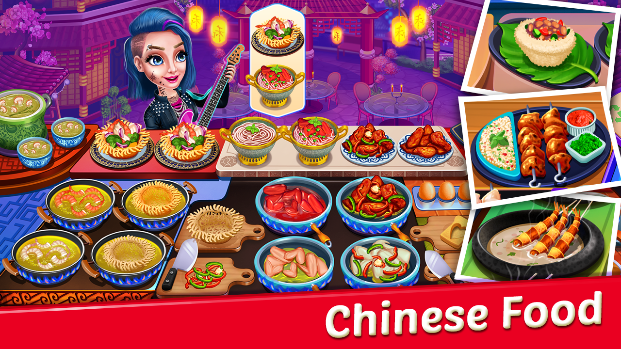 Crazy My Cafe Shop Star - Chef Cooking Games 2020
