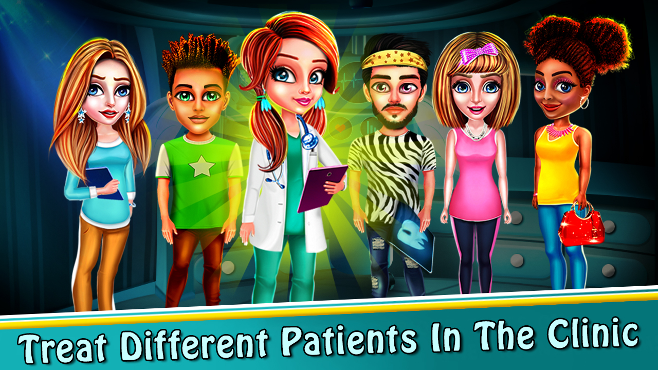 Dentist Doctor - Operate Surgery Hospital Game