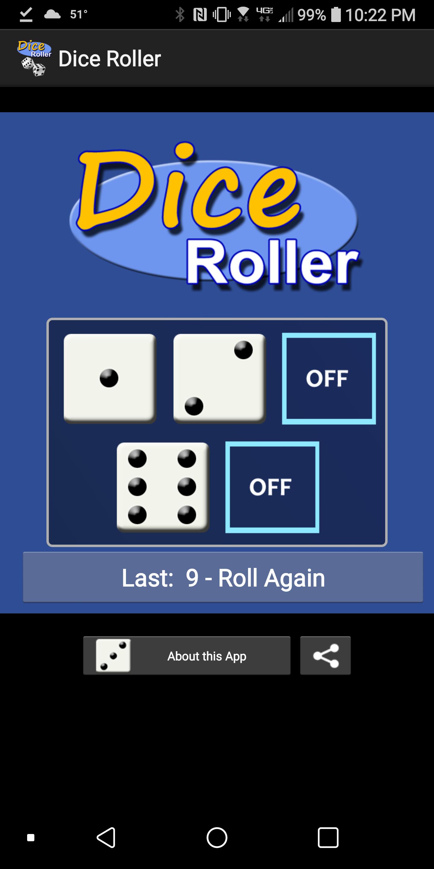 Dice Roller Simulation