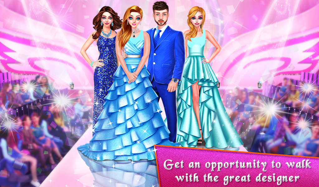 Fashion ShowStopper Model Girls Beauty Salon Game