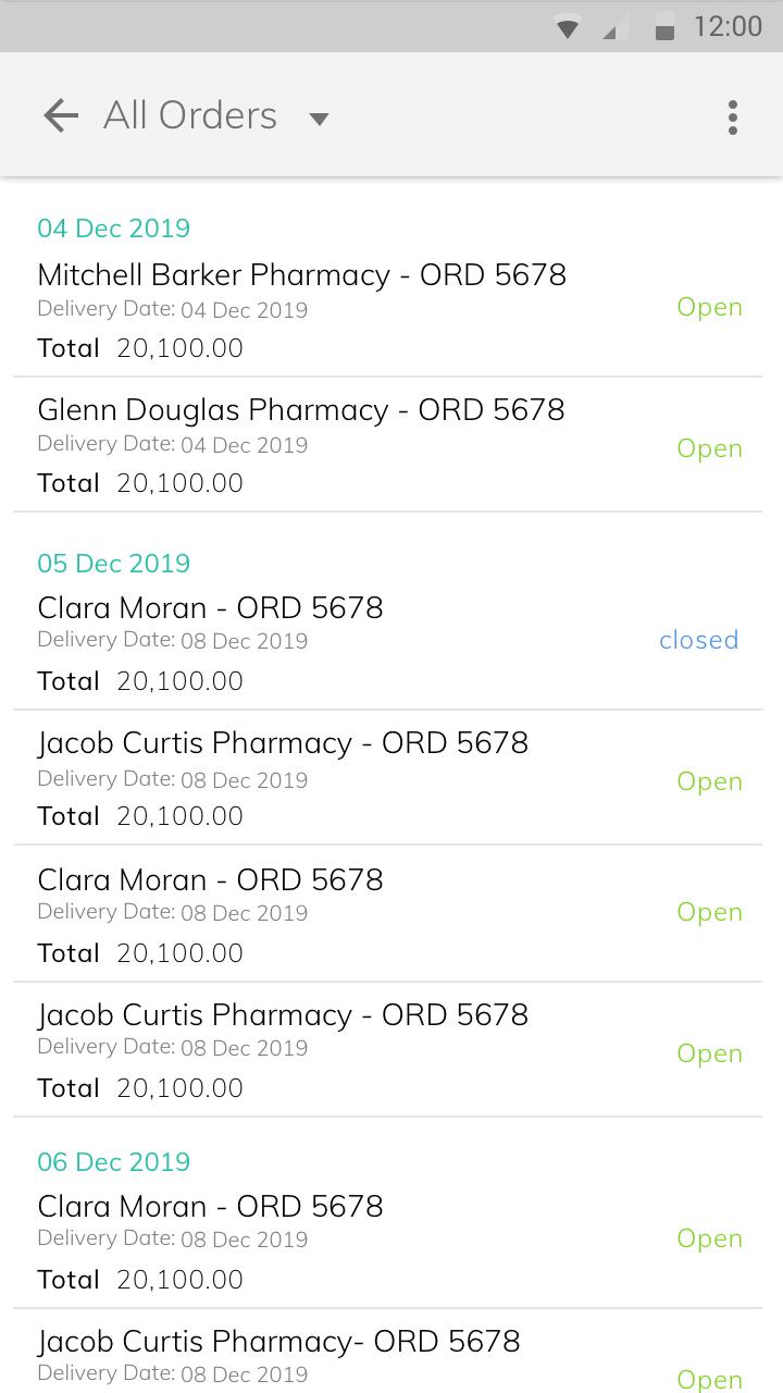Field Sales & Mobile Order Taking App - TaskCare