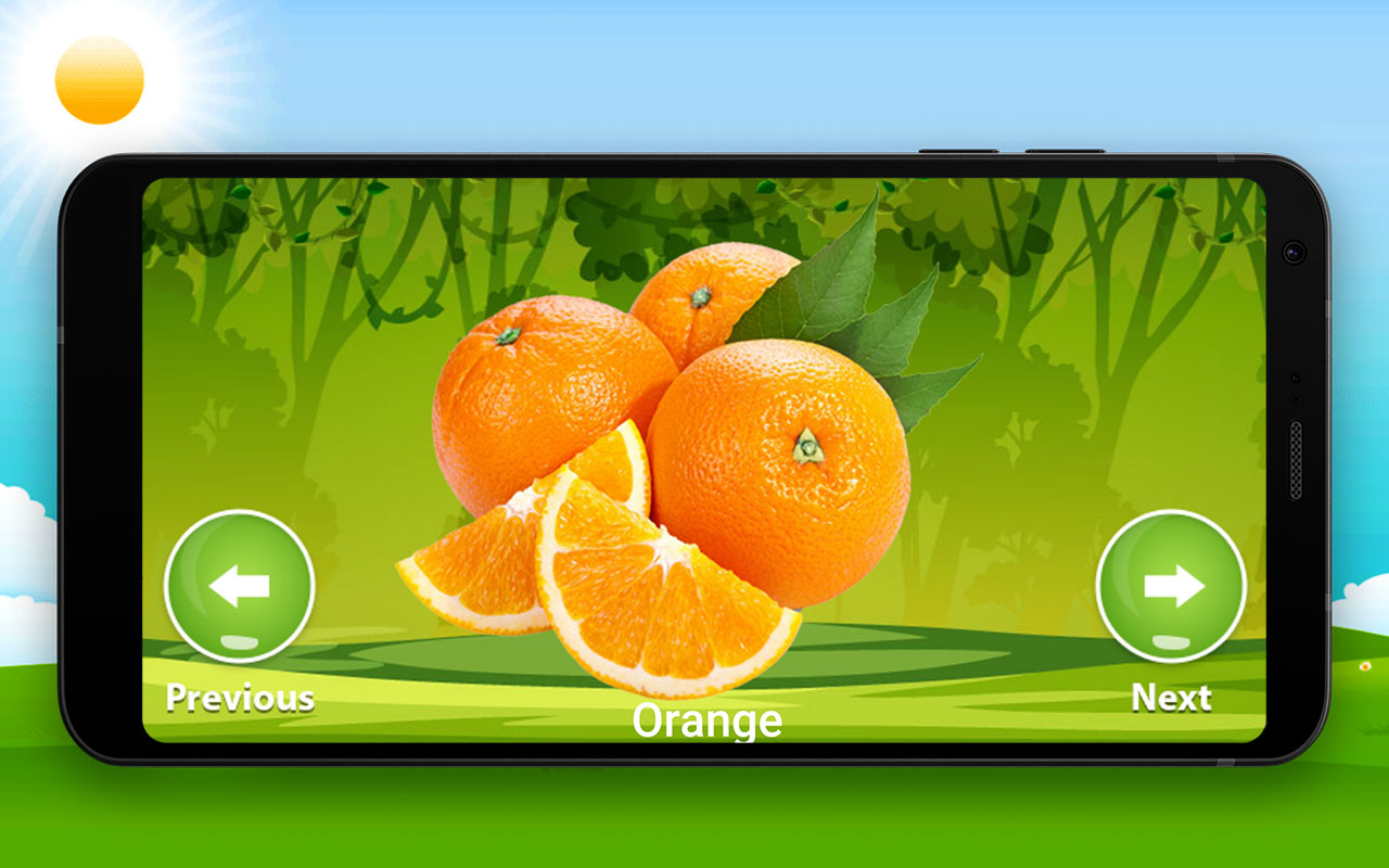 Fruits and vegetables for kids - learn fast & free