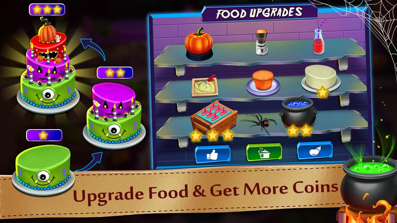 Halloween Cooking & Restaurant Chef Game