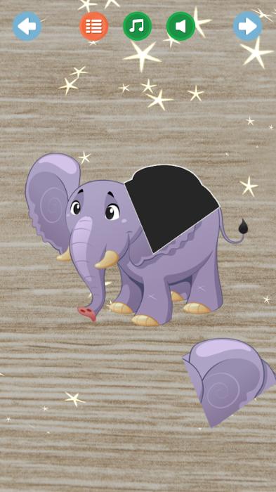 Kids Puzzles - Animals