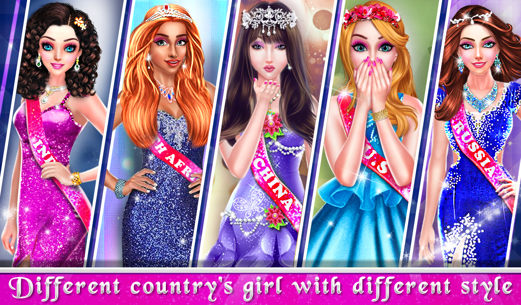Live Miss world Beauty Pageant Girls Games