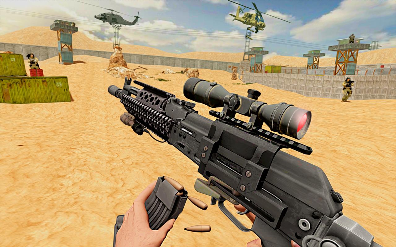 Modern Sniper Shooting Expert 2019 - Shooting Game