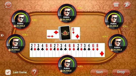 Most Popular Card Game - Indian Rummy Game App