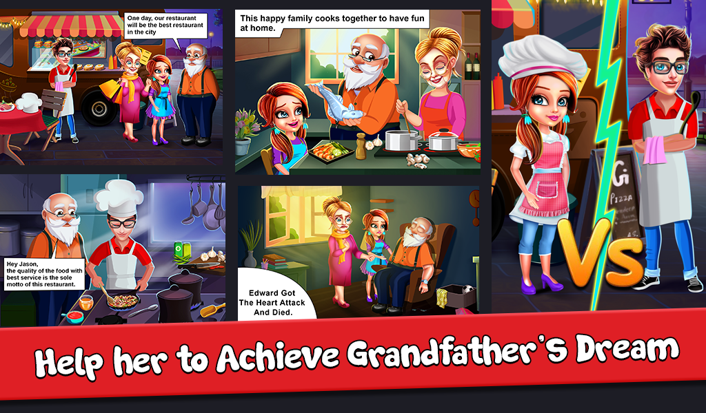 My Cafe Shop - Restaurant & Girls Cooking Games