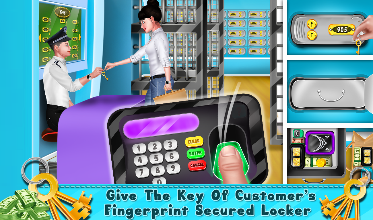My Virtual Bank ATM Machine Simulator Game