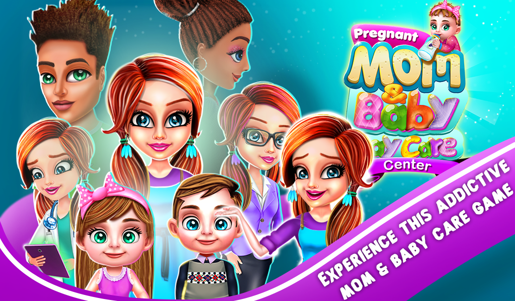 Pregnant mom & Baby DayCare Center Management game