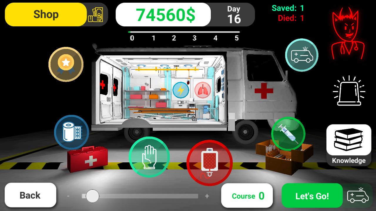 Reanimation inc: 3D Medical Emergency Simulator