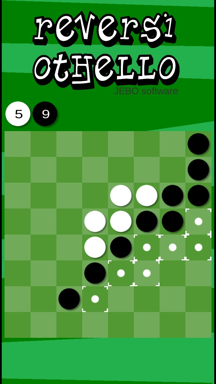 Reversi Othello - Casual free board game.