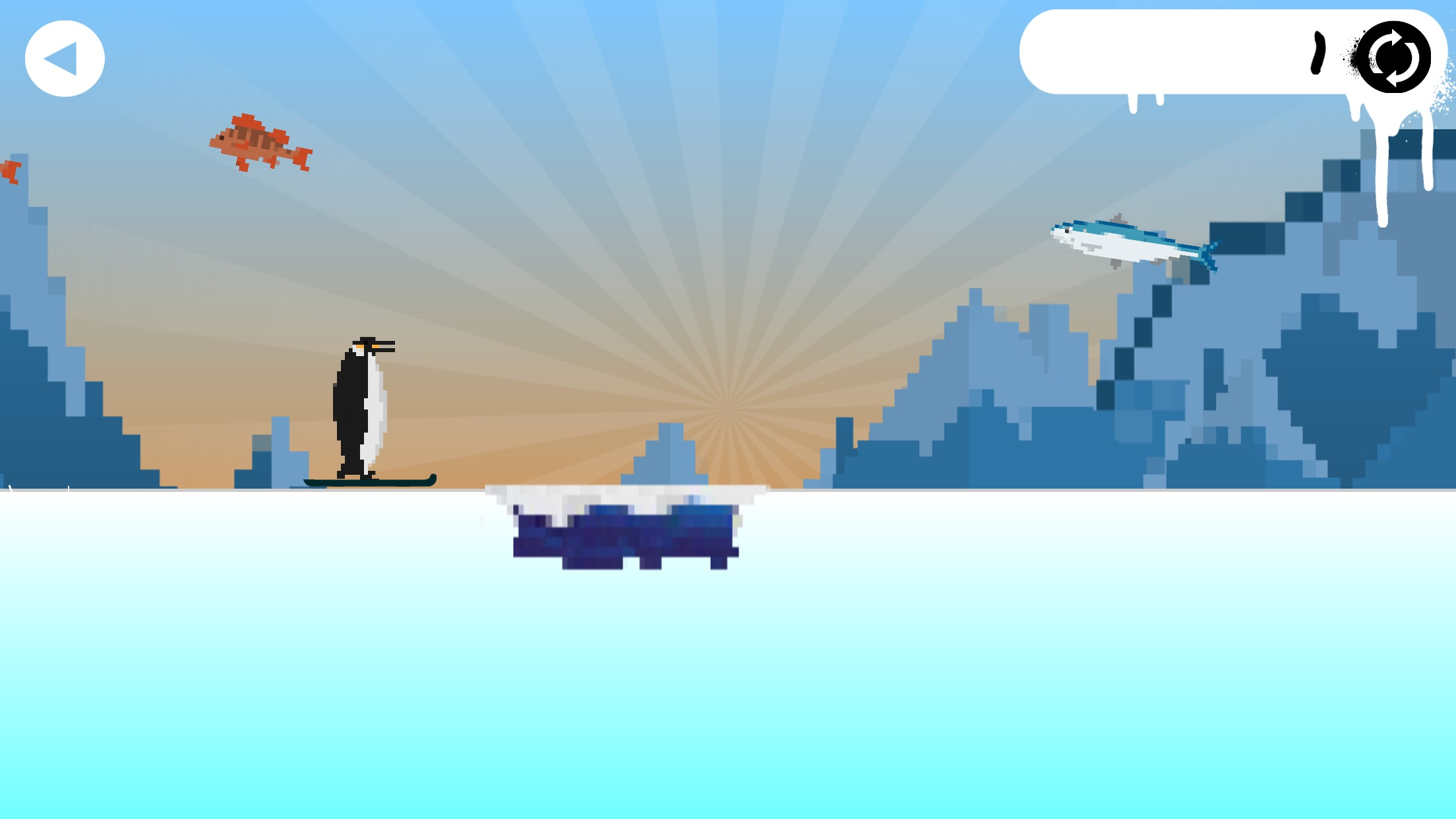 The Skiing Penguin