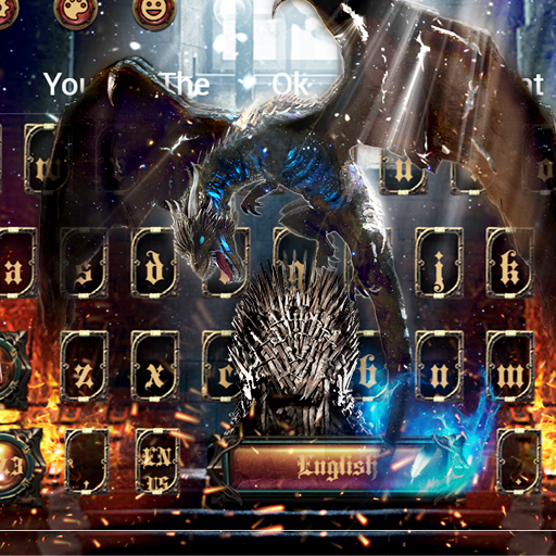 Thrones Conquest: Fire Dragon Keyboard