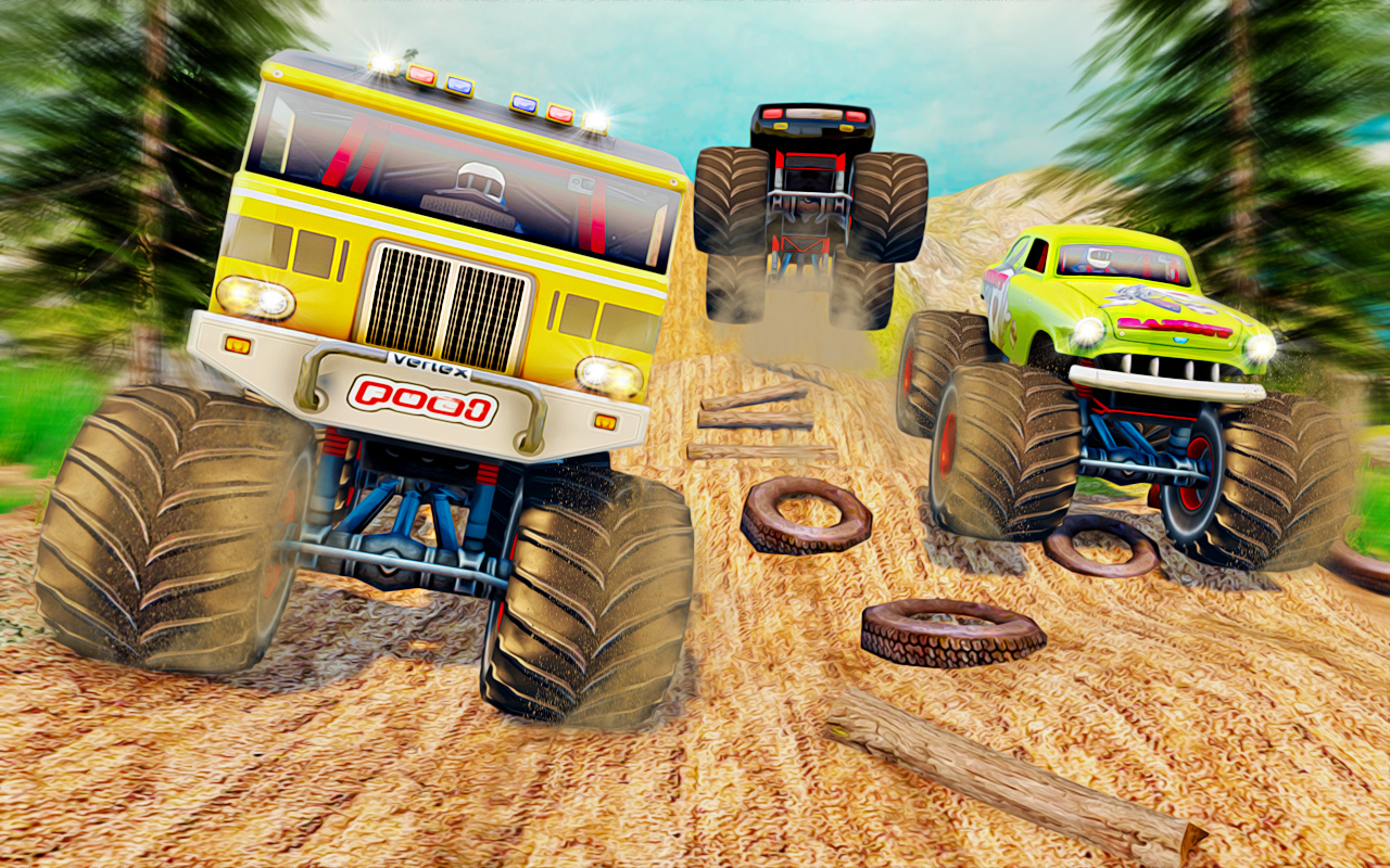 Top Monster Truck Game 2019 :OG Truck Games Master