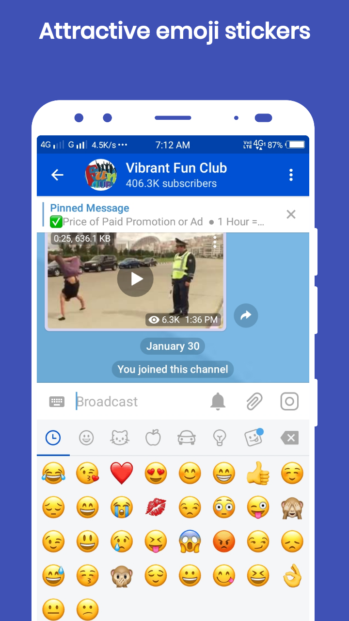 Vibrant Chat Messenger