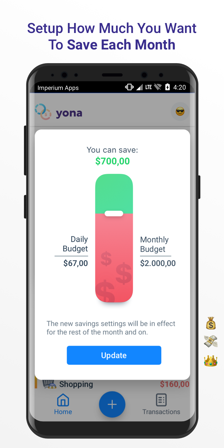 Yona - Money & Budget Manager, Finance For Couples