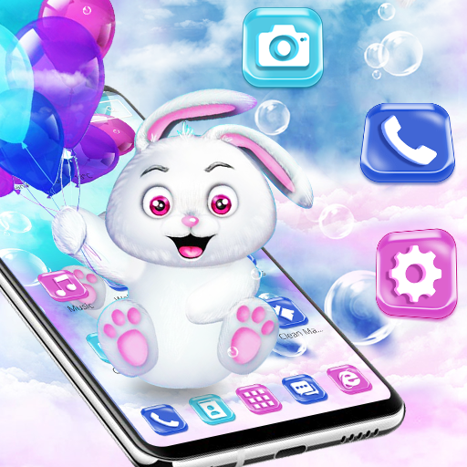 Colorful Teddy Balloon Theme