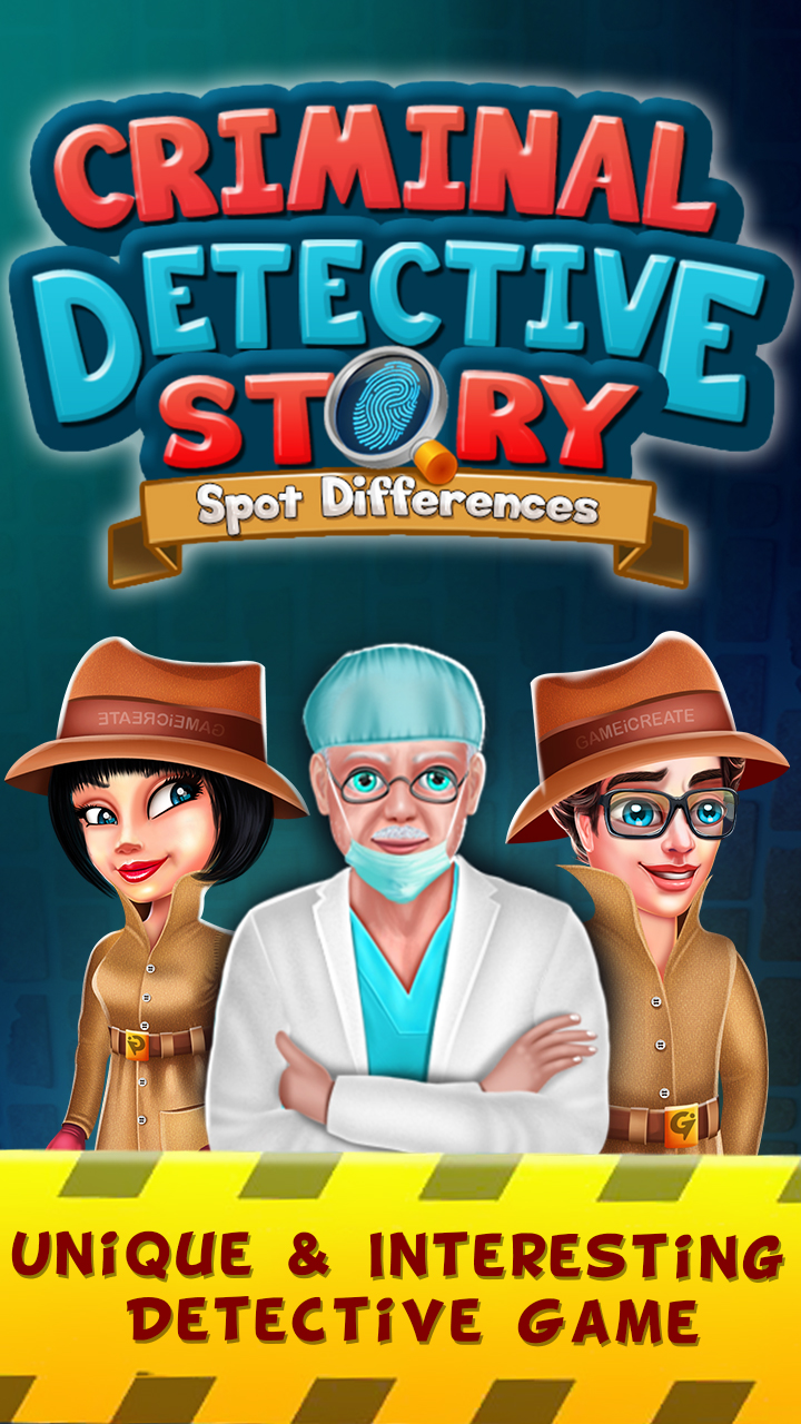 Criminal Detective Story : Spot Difference Cases
