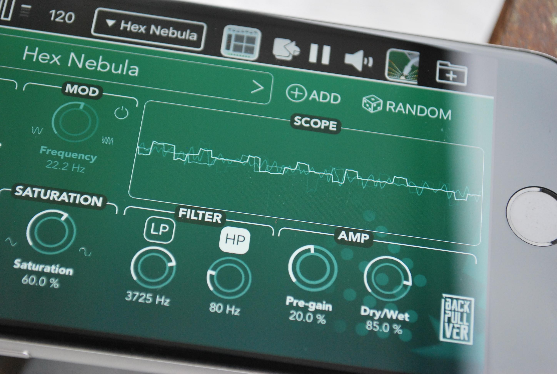 Electrogene - Bitcrusher audio effect app