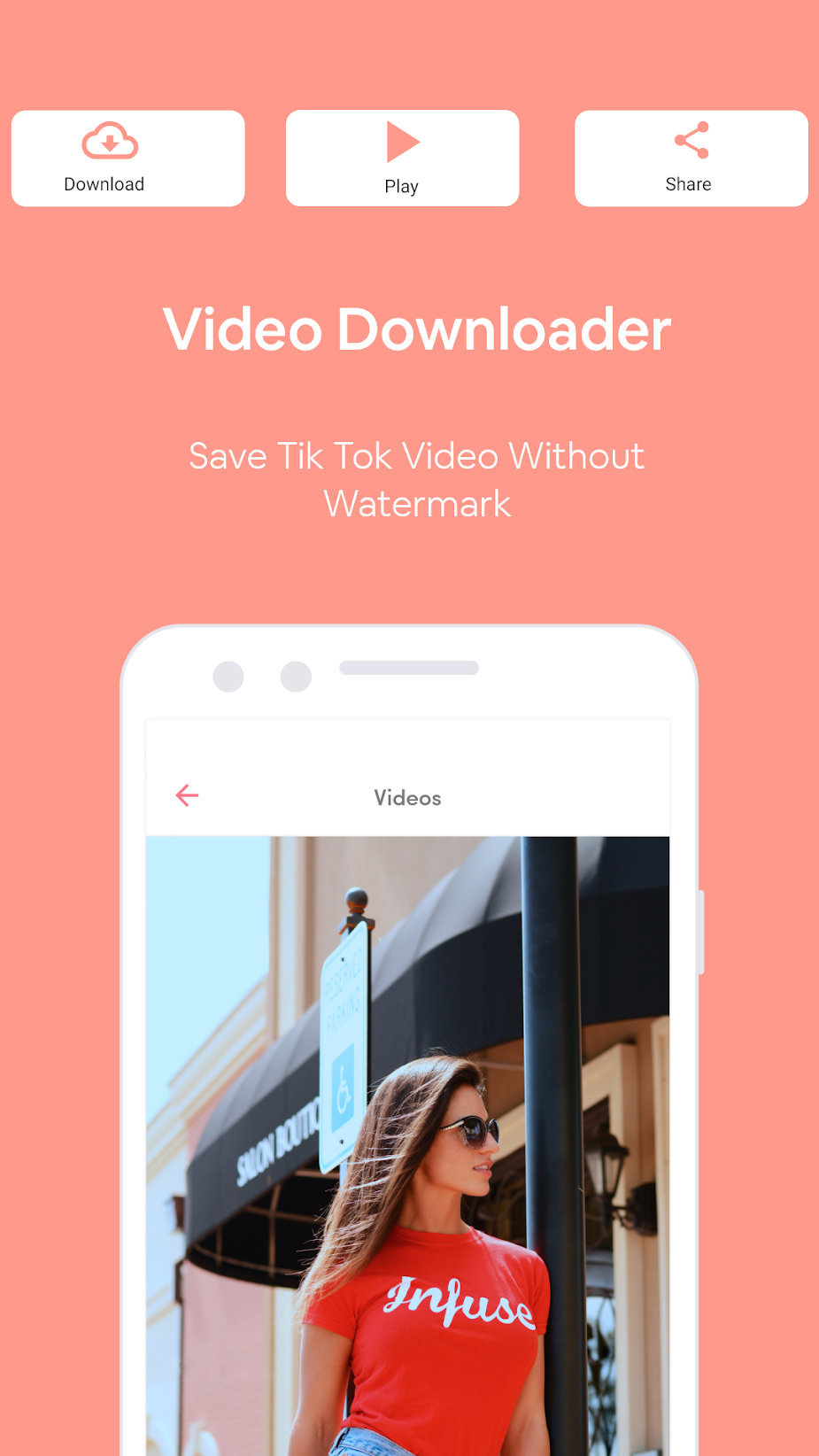 HD Video Saver - Tictoc Video Downloader