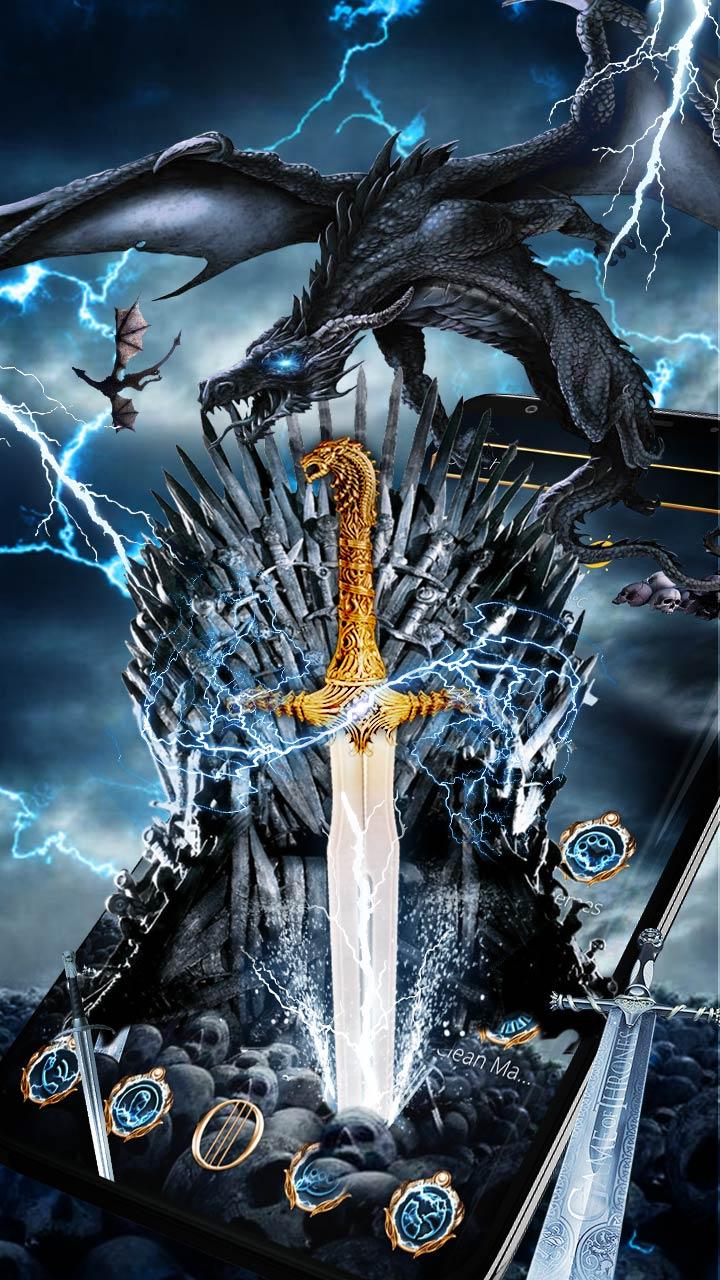 Iron Thrones Dragon Theme