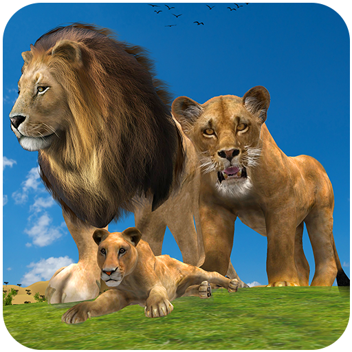Jungle Kings Kingdom Lion Family