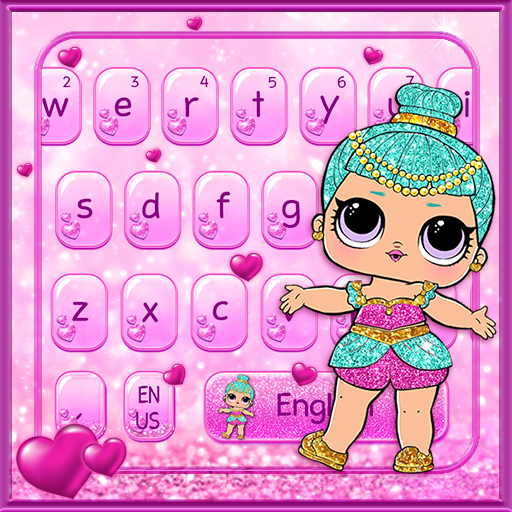 Lol Little Girl Magic Keyboard Theme