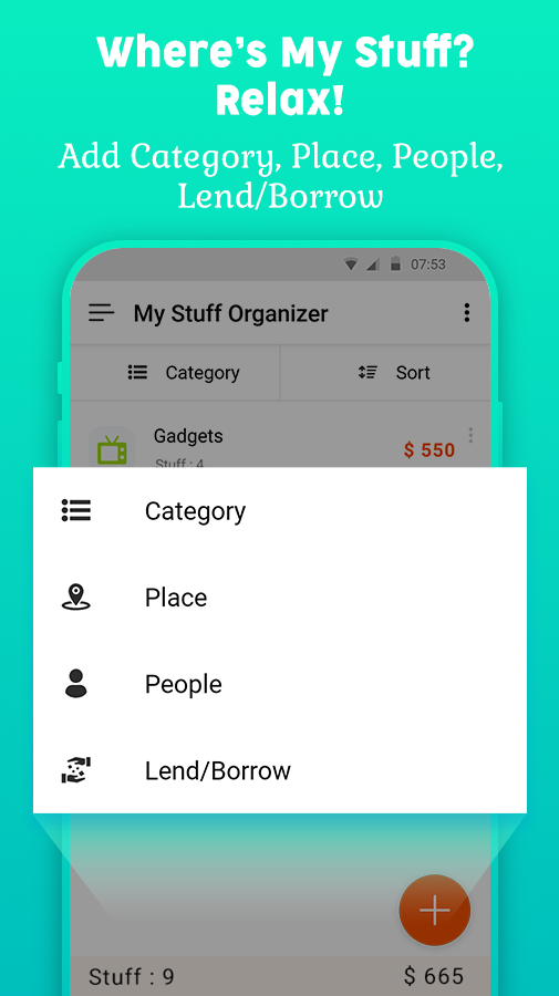 My Stuff Organizer: For Home Inventory Management