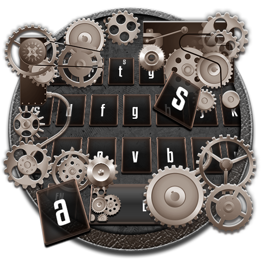 Silver Luxury Mechanical Keyboard Theme
