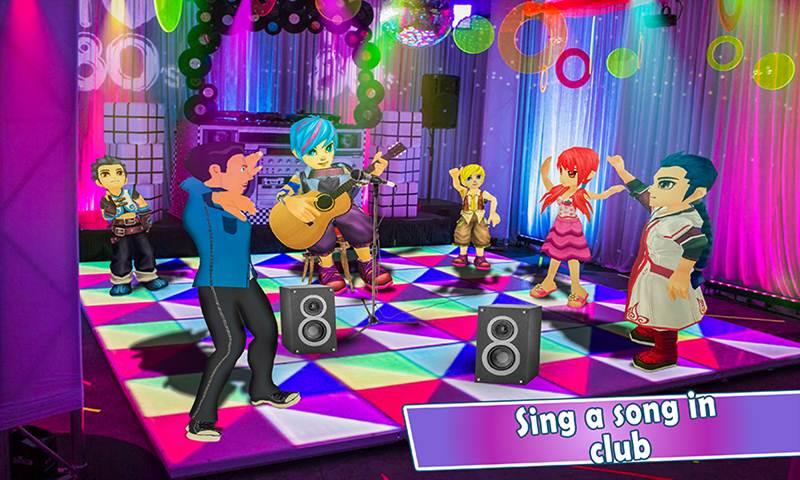 Singers Singing Happy Life Simulator