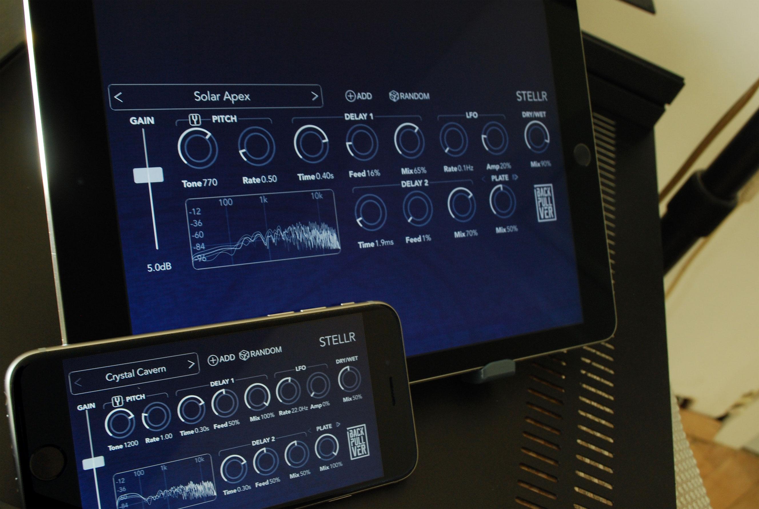 Stellr – Shimmer audio effect app