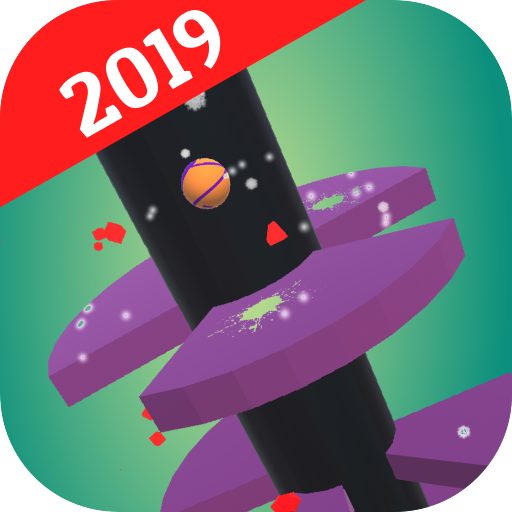 Tower Crash: Spiral Ball Jump 2019